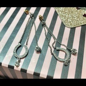 Juicy Couture vintage earrings horseshoe drops